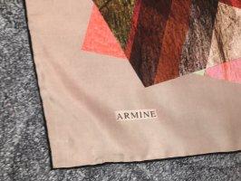 Armine Zijden doek veelkleurig