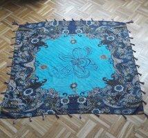 Pañuelo de seda multicolor Poliéster