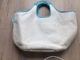 reisenthel Basket Bag white-light blue