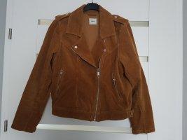 Pimkie Biker Jacket cognac-coloured