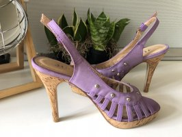 Kork/Leder Pumps