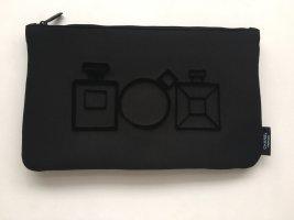 Chanel Borsa clutch nero Tessuto misto