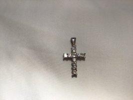 Kreuz Anhänger 925 Sterling Silber