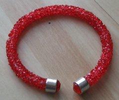 Kristall Armband - rot