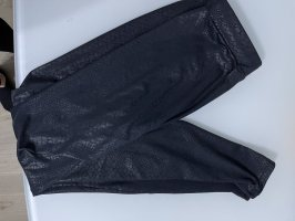 Kroko leggings schwarz neuwertig