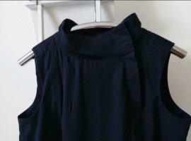 COS Letnia sukienka ciemnoniebieski