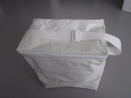 Travel Bag white nylon