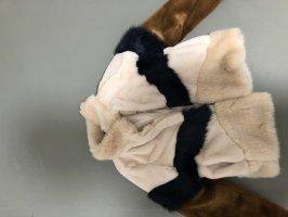 Zara Trafaluc Fur Jacket multicolored