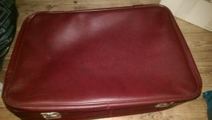 Suitcase red