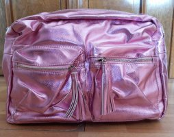 Bon Prix Crossbody bag pink mixture fibre