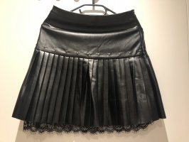 OVS Faux Leather Skirt black