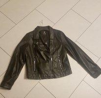 Atmosphere Faux Leather Jacket black