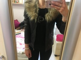 Primark Faux Leather Jacket multicolored