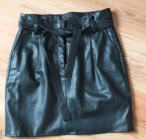 Tom Tailor Faux Leather Skirt black