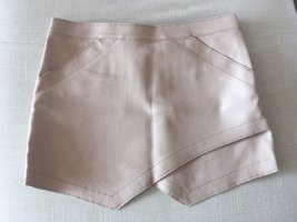 BCBG Maxazria Leather Skirt multicolored