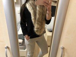 Kunstpelz Schal Fale Fur