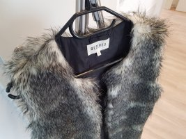 desires Fake Fur Vest multicolored