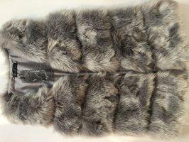 Modequeen Fake Fur Vest multicolored