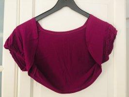 Hallhuber Boléro violet-rouge framboise