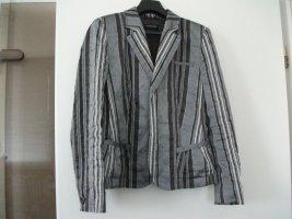 Kurz Jacke / Kurz Blazer von Blacky Dress, Gr. 36, grau-silber