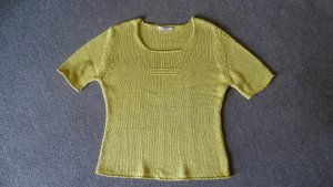 Sem per lei Crochet Shirt grass green-meadow green mixture fibre
