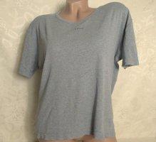 Kurzarm T-Shirt Gr. XXL Helles Grau Baumwolle Shortsleeve