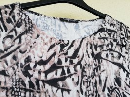 Kurzarmshirt mit Tierfellprint in taupe/creme/schwarzbraun von Betty Barclay