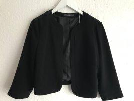 Kurze Blazer-Jacke *Esprit* schwarz, Gr. 36