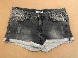 Anti Blue Jeansowe szorty szary-ciemnoszary