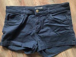 H&M Spijkershort donkerblauw