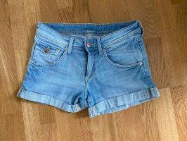 & DENIM Shorts azzurro-blu acciaio