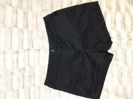 H&M Bermuda zwart Katoen