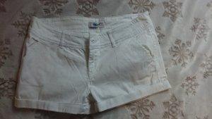 Beach Time Hot Pants white