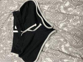 H&M Divided Szorty sportowe czarny-biały