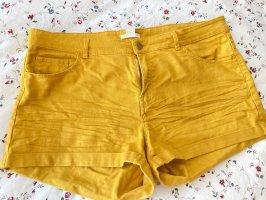 H&M Pantalón corto naranja dorado