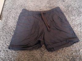 Kurze Hose aus Leinen und Baumwolle