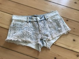 Kurze Hose, Hot Pants, Spitzen Hose, Short, Sommer Hose, Jeansshort