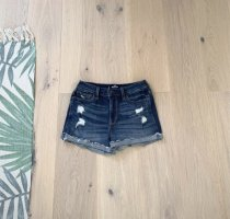 Hollister Short en jean bleu foncé