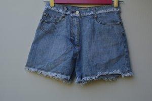 Kurze Hose Jeans Vintage Retro Gr. XXS