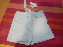 Janina Pantaloncino a vita alta beige chiaro
