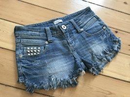 Kurze Hose, Nieten Shorts, Hot Pan