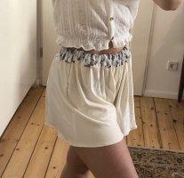 Kurze Hose, Shorts, Blumenshorts, Handmade