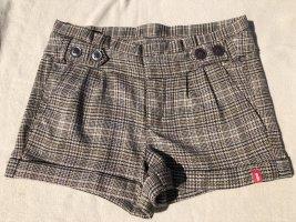 Kurze Hose, Shorts, EDC by Esprit, Braun kariert, Gr. 34, Neu