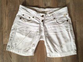 Kurze Hose Shorts von Timezone in weiß Größe 28