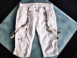 Kurze Hose, Shorts, Weiß (K1)