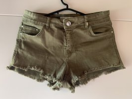 Bershka Shorts caqui