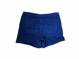 & DENIM Hot pants donkerblauw