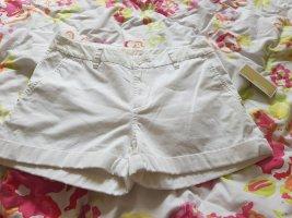 Michael Kors Pantalone chino bianco-oro