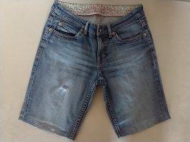 Esprit Jeansy ze stretchu stalowy niebieski