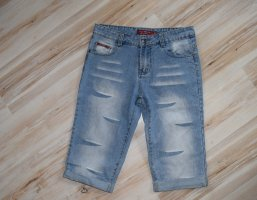 FB Sister 3/4 Length Jeans multicolored cotton